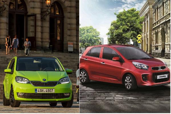 50 萬有找都會小車該選誰?Skoda Citigo 與 Kia Morning 比一比
