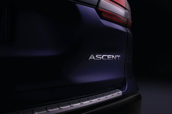 7 人座休旅 Subaru Ascent,11 月底洛杉磯車展發表倒數!