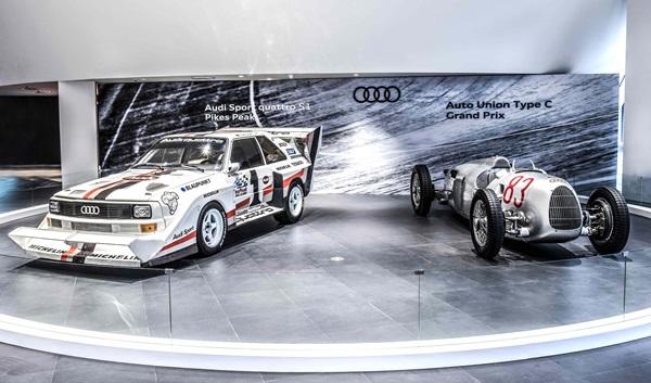 Audi 車展主秀搶先預賞,雙傳奇車款登陸台灣!