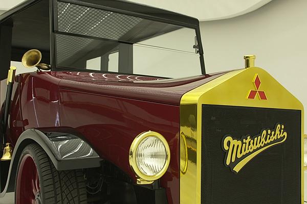 三菱汽車 100 歲了!品牌的第一輛車長這樣?