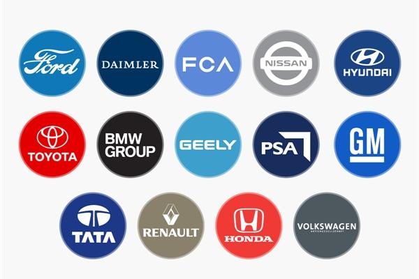 2017 年全球汽車集團銷售排行榜,3 大集團競爭超激烈!