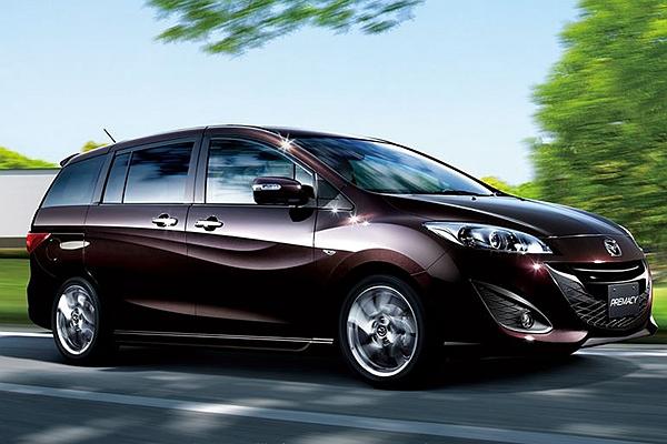 休旅抬頭 Mpv 式微 Mazda 已陸續停產多款7 人座車型 自由電子