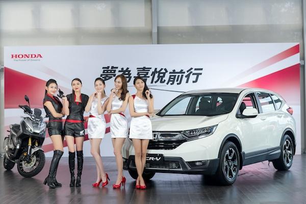 台北車展 Honda 不公布新車參展消息,車模反而先亮相...(內有影音)