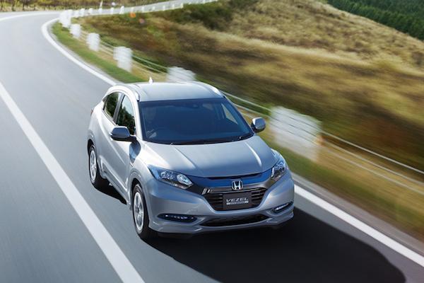 日規 Honda HR-V 明年初小改款,全車系將標配 Honda Sensing!