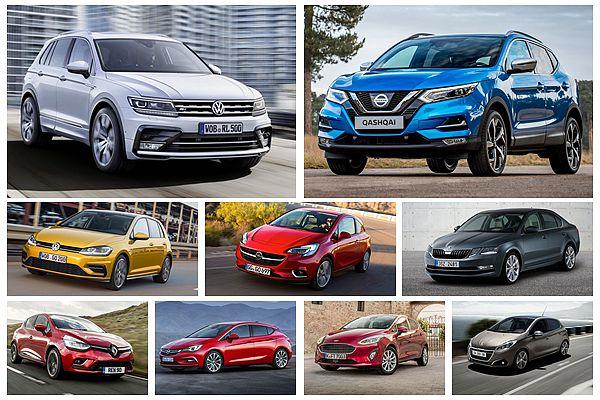 掀背車受休旅威脅!歐洲今年 10 大暢銷車款排名出爐