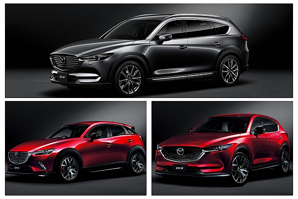 Mazda 休旅降車身變超帥!東京改裝車展 CX 陣容全員到齊