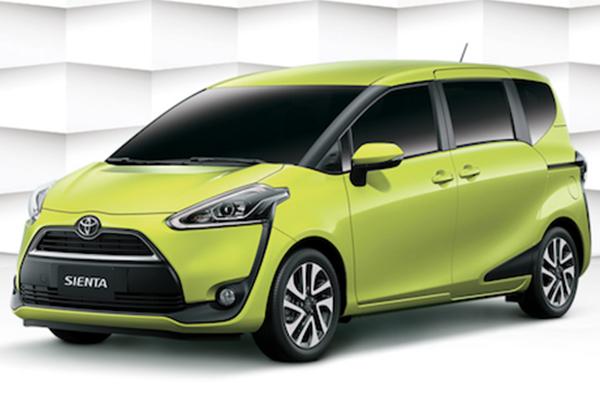 當然不能只顧七人座,Toyota Sienta 五人座售價正式調降!