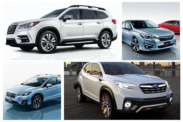 擴大休旅銷售區域!Subaru 年度新車計畫有亮點