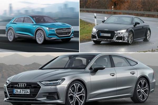 車迷先睹為快!外媒曝光 Audi 2018 年 8 款重要新車上市計畫