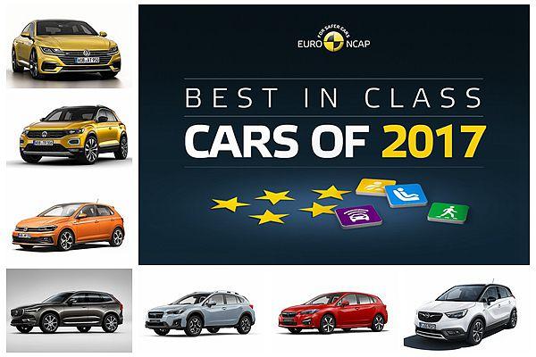 Euro NCAP 公佈年度最安全 7 輛新車!台灣只有 2 款買不到