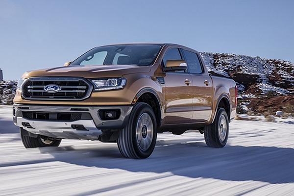 重返中型皮卡市場!美規 Ford Ranger 外型、動力更強悍