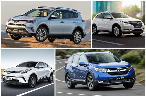 2017 年全球休旅車銷售大戰,Toyota VS.Honda 之爭誰勝出?