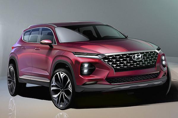 跑車氣息更強烈的休旅!Hyundai Santa Fe 第四代 2 月韓國發表