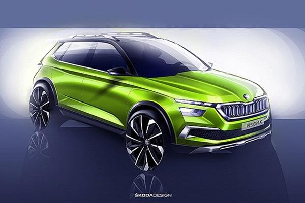 會是品牌第 3 款休旅?Skoda 釋出全新跨界 SUV 概念車