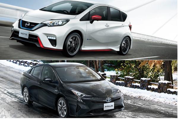 復仇成功!日本 1 月汽車銷售 Nissan Note 擊退 Prius 搶回冠軍