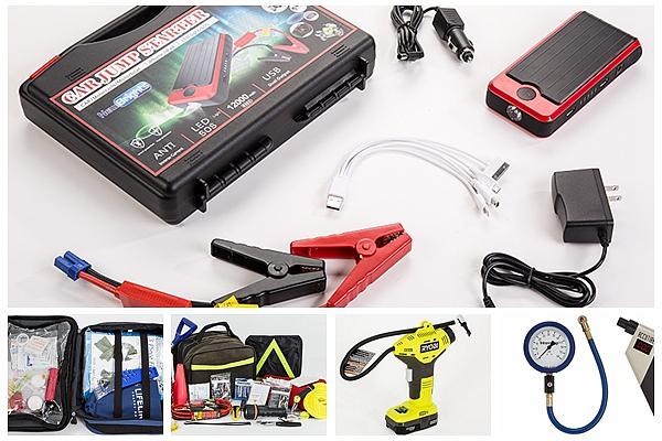 連假開車遠途旅行,這些實用備品不要忘!
