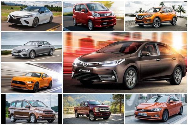 2017 年全球各級距最暢銷車款分別是誰?市調機構報你知!