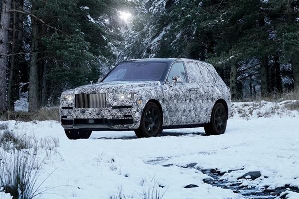 巨鑽恆久遠,Rolls-Royce 首款全地形 4WD 產品命名 Cullinan