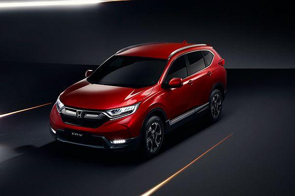 好料滿載且有 7 人座!歐規新 Honda CR-V 終於現身