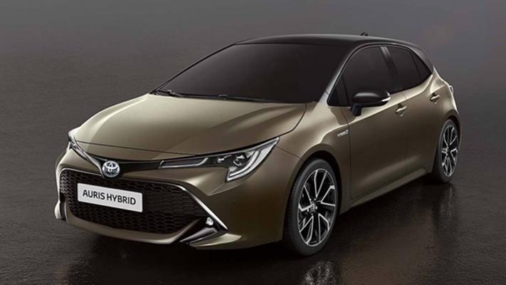 Toyota 大改款 Auris 日內瓦車展前夕定裝照流出,雙色車身超帥氣!