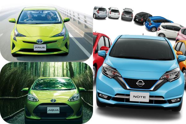 10 款日本官方認證 2017 最省油車,每款平均油耗都超過 30 公里!