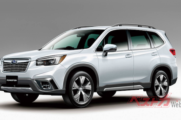 搶在官方發表會前曝光!大改款 Subaru Forester 外觀長這樣?