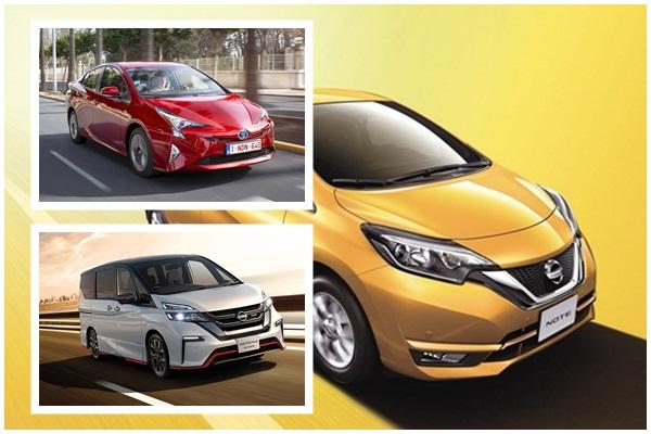 日本 3 月汽車銷售 TOP10 出爐,Toyota Prius 差點連第二名都保不住!