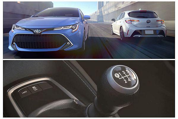 Toyota 超聰明 iMT 手排變速箱,也是 Corolla Hatchback 賣點之一!