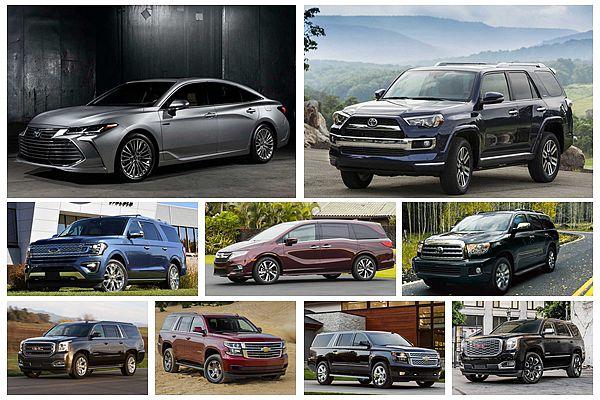 10 款最耐操、開 30 萬公里以上車款,清一色都是休旅車!