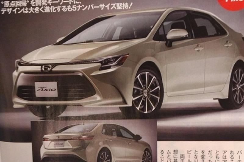 全新 Toyota 日規 Corolla 竟有性能版?日媒流出完整外觀與規格