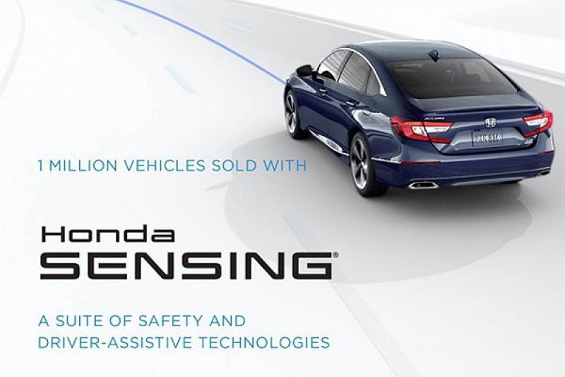 車損賠償率下降 11%!Honda Sensing 目標 2022 年列為標配(內有影片)
