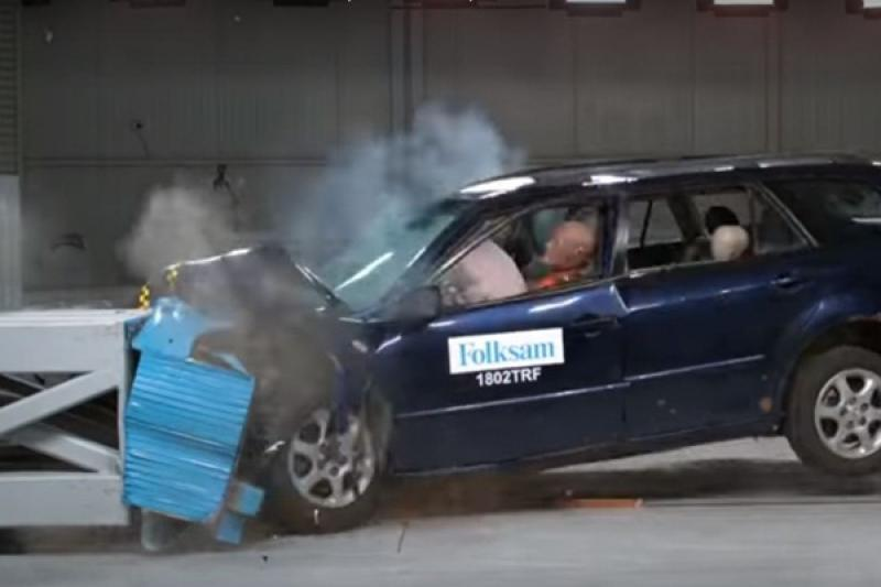 生鏽對二手車安全影響有多大?看過撞擊測試影片就知道!(內有影片)