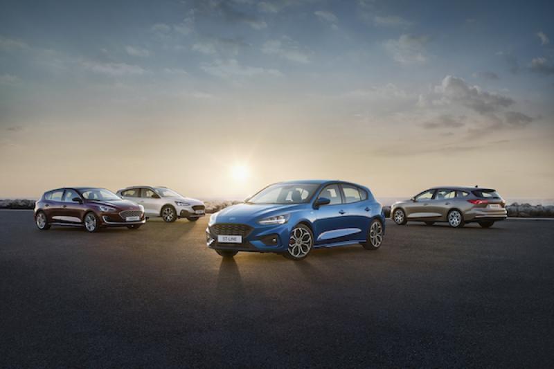 性能車 Ford Focus ST/RS 尚未發表,預想圖先曝光滿足車迷期待!
