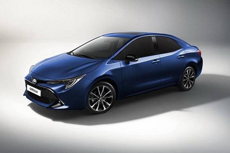 大改款 Toyota Corolla 房車最新測試照出爐,更多外觀細節曝光!