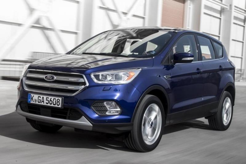 Ford 全新 Kuga 的偽裝測試車曝光!有望出現三排座椅車型?