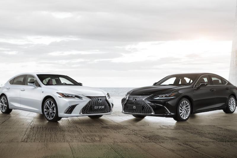 中大型房車 Lexus ES 大改款正式發表,台灣上市時間也確認!(內有影片)