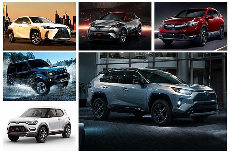 除 CR-V、RAV4!日媒更期待這 4 款新 SUV 發表