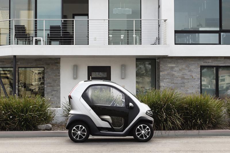 比賓士 Smart 還小!主打市區通勤的美國電動車 25 萬有找