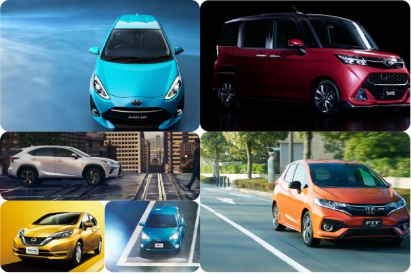 油電小車竄起搶下第一名!日本 4 月汽車銷售排行公布