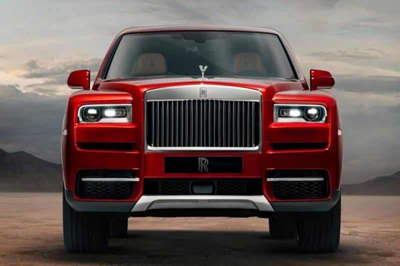 Rolls-Royce 首款 4 驅休旅 Cullinan 正式亮相,最快年底台灣上市!