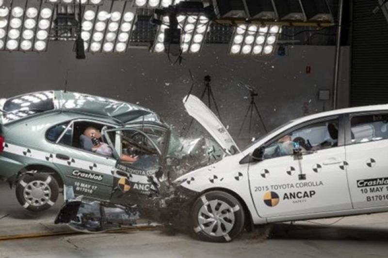 美國《NHTSA》具體數據顯示,老車與新車的安全性差超多!