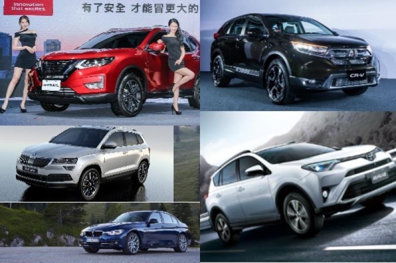 國產車冠軍 CR-V 打敗 Altis!5 月台灣汽車銷售排行公布