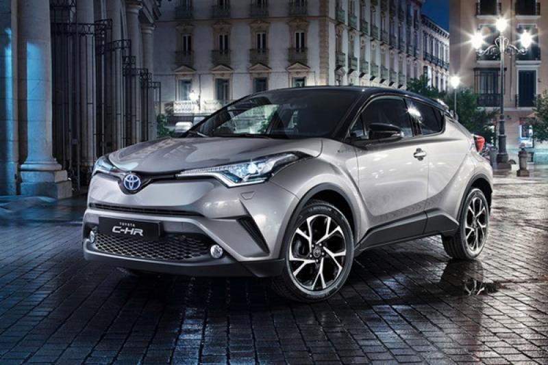 比台灣慢了 1 年多卻有很多新配備!Toyota C-HR 在中國上市