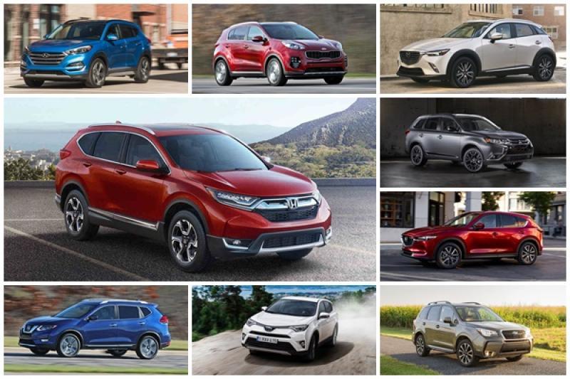 9 款拿下安全首選的主流中、小型 SUV,台灣車主都買得到!