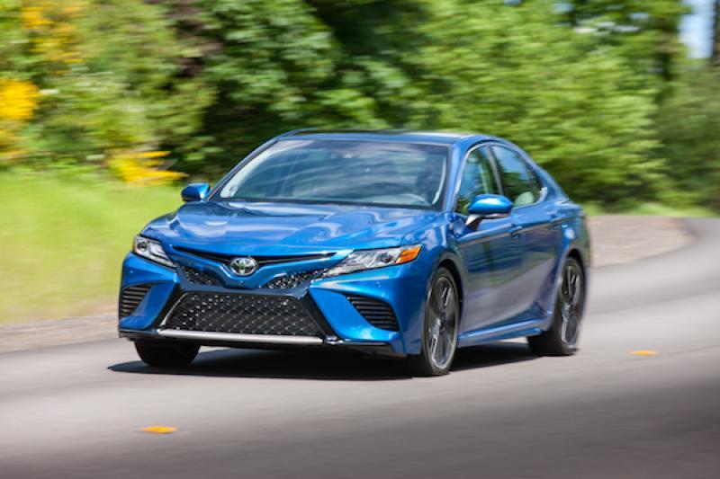 美國上半年房車銷售排行榜,日本車一口氣包辦前 6 名!