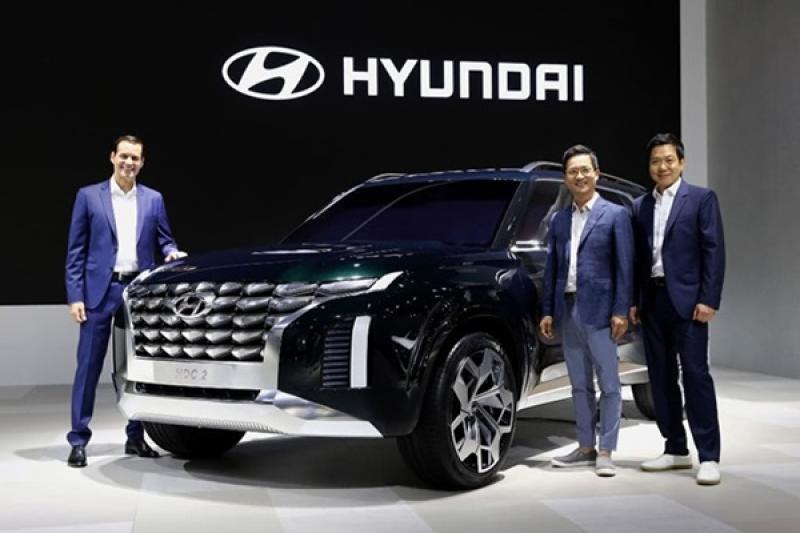 Hyundai 要推全新 8 人座旗艦休旅,量產車型將於明年亮相!