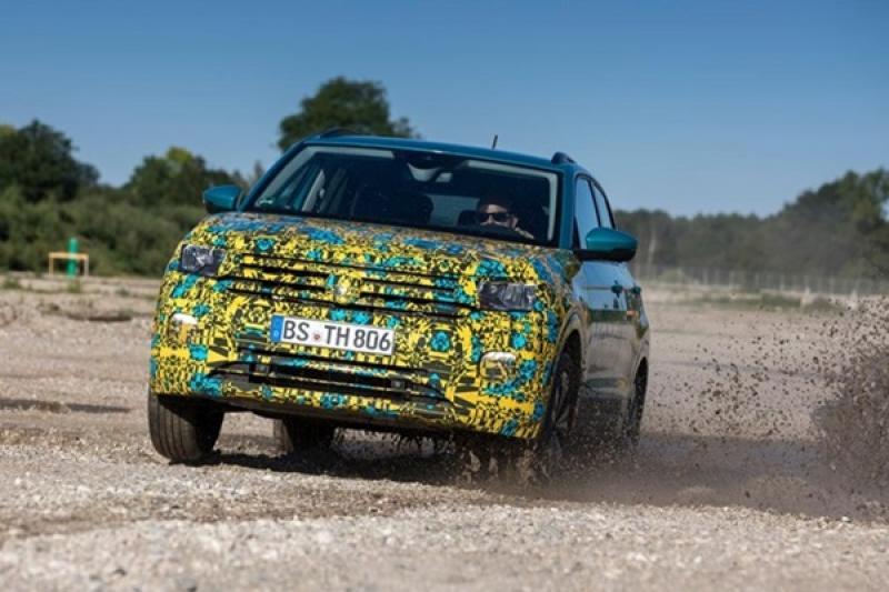 VW 全新都會休旅 T-Cross 將亮相,外媒搶先試駕曝光細節!