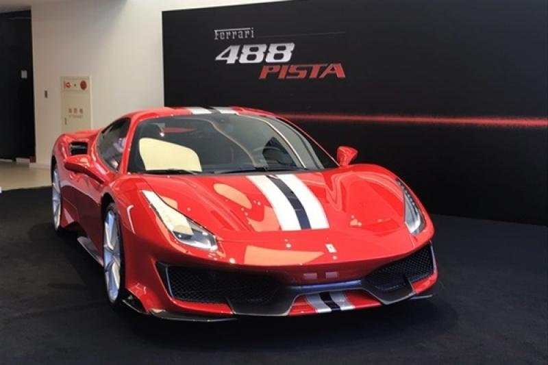Ferrari 最強 V8 公路跑車,488 Pista 台灣正式亮相!(內有相片集)