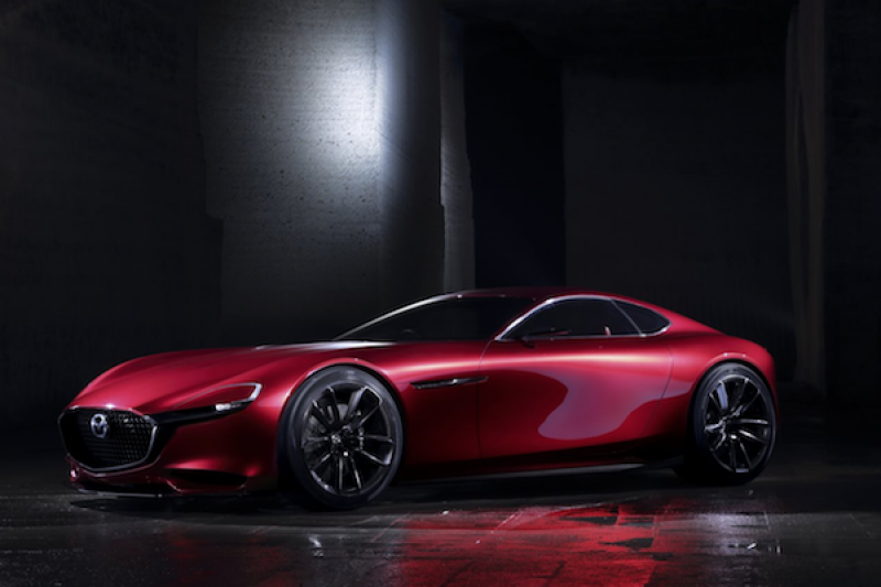 Mazda 當家 RX 跑車上市時間沒下文,車迷先繪製量產後可能樣貌!