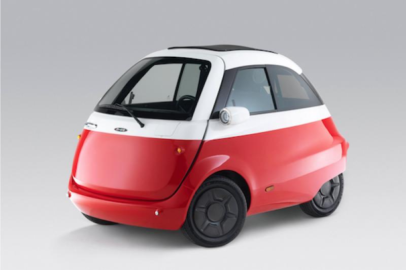 好停車又吸睛!2 人座經典造型電動小車,明年開賣(內有影片)